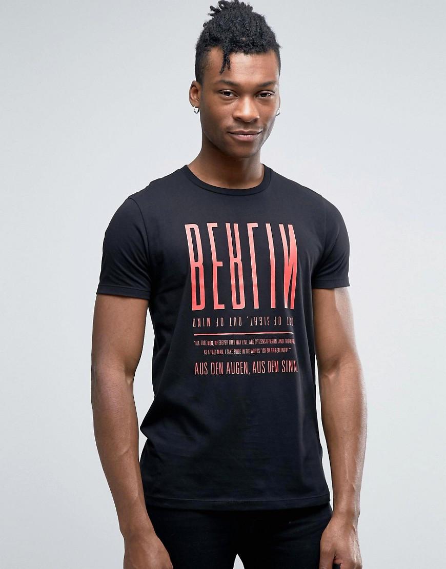 Ben Sherman Printed T-Shirt pro fashion 01